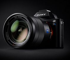 Sony A7S - Sony's new A7S is a compact interchangeable-lens camera aimed at videographers offering a full-frame sensor and the ability to shoot 4K video. It also has a crazy max ISO of 409,600 meaning it will practically shoot 4K footage in the dark.   via werd.com