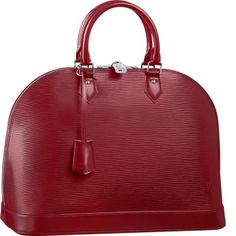 Borse Louis Vuitton Alma Epi In Pelle MM M4032M Rossa