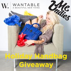 MeUndies and Wantable pair up for a Holiday Handbag Giveaway! Enter for a chance to win a Philip Lim handbag and MeUndies goodies