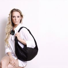 #photography #mua #makeup @reynasheek @sheekcosmetics #modeling #handbag #hair #whiteshirt #photo by @bryannoss