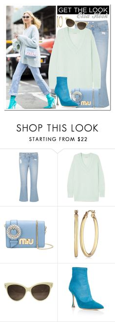 """""""Get the look: Elsa Hosk"""" by alexa-girl2 ❤ liked on Polyvore featuring SJYP, Temperley London and Miu Miu"""