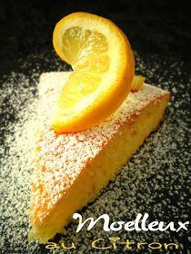 Moelleux au citron (3.5 pts ww)
