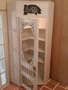 Corner Pantry - My First Dollhouse - Beacon Hill - Gallery - The Greenleaf Miniature Community