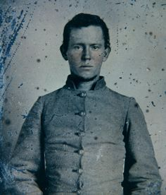 """Sgt. Samuel Daimwood, Company G, """"Duck River Rifles"""" 24th Tennessee Infantry."""