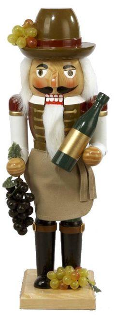 Wooden Wine Grower Nutcracker - Christmas - kerstmis - holidays