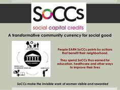 Transformative Innovation for Development: Social Capital Credits (So… Social Capital, Innovation, The Neighbourhood, Health Care, Presentation, Education, Life, Learning, The Neighborhood