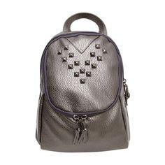 2016 Fashion Women Leather Backpacks Rivet Schoolbags for Teenage Girls Female Bagpack Lady Small Travel Backpack Mochila