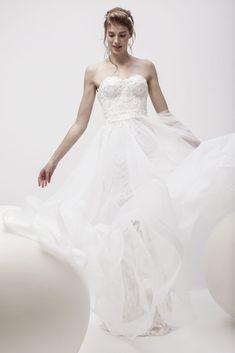 Andree Salon Muse, One Shoulder Wedding Dress, Salons, Wedding Dresses, Collection, Fashion, Romans, Atelier, Bride Dresses
