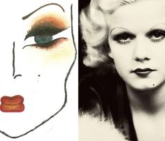 Old Hollywood Glam, Jean Harlow Style