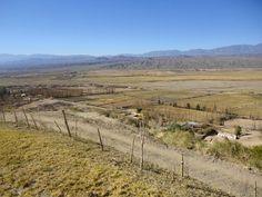 Valle de Angualasto - panorámica - San Juan