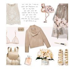 """""""My mind wanders"""" by alongcametwiggy ❤ liked on Polyvore featuring Helmut Lang, Christian Louboutin, Creative Displays, Kiki de Montparnasse, Alice + Olivia, Fendi, Anne Klein and Bobbi Brown Cosmetics"""