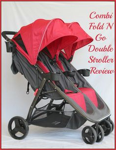 Looking for a double stroller? Check out the Combi Fold N Go Double review on Our Piece of Earth!