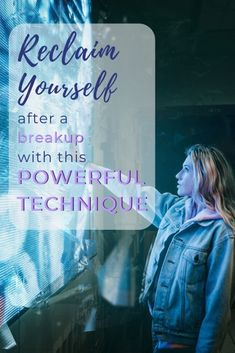 Reclaim yourself after a breakup with this powerful technique PIN Get Over Your Ex, Get Over It, Negative Self Talk, Negative Emotions, Breakup Picture, Getting Over Heartbreak, Self Esteem Activities, Letting Your Guard Down, Relationship Issues