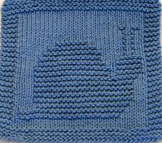 Knitting Cloth Patterh  SNAIL  PDF by ezcareknits on Etsy, $2.85