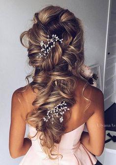 Ulyana Aster Wedding Hairstyles Inspiration | Deer Pearl Flowers
