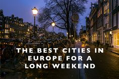 The Best Cities in E