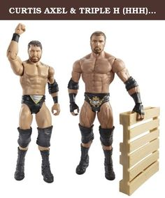 CURTIS AXEL & TRIPLE H (HHH) - WWE BATTLE PACKS 26 WWE TOY WRESTLING ACTION FIGURE 2-PACKS. CURTIS AXEL & TRIPLE H (HHH) - WWE BATTLE PACKS 26 WWE TOY WRESTLING ACTION FIGURE 2-PACKS.