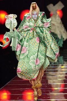 Christian Dior Spring 2003 Couture Fashion Show - John Galliano, Liisa Winkler