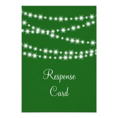 Find customizable Emerald Green invitations & announcements of all sizes. Pick your favorite invitation design from our amazing selection. Twinkle Lights, String Lights, Twinkle Twinkle, Response Cards, No Response, Emerald Green Weddings, Rsvp, Holiday, Vacations