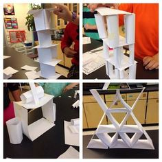 STEM Engineering Challenge: Build a Tower with Index Cards