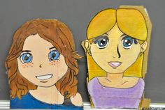 artisan des arts: The world's best grade 6 grad portraits!