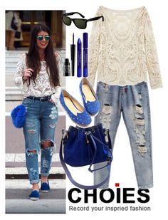 """""""Choies 5."""" by marijaprusina ❤ liked on Polyvore featuring Ray-Ban, By Terry, Lord & Berry and Choies"""