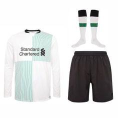 Liverpool 2017-18 Season Away LS Whole Kit