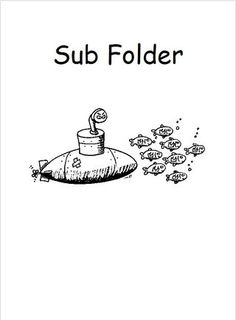 must haves in your sub folder