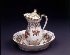 It's one of the most beautiful XVIII-century Limoges porcelain