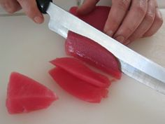 How and where to purchase sushi grade seafood; also how to prepare.