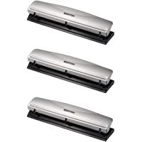 Bostitch Office Hp12 3 Hole Punch 12 Sheet Capacity Metalsilver 3 Pack In 2020 Hole Punch Things To Sell Sewing Crafts