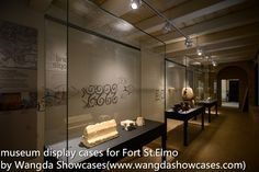 Museum Display Cases: Fort Saint Elmo-museum display cases from Wangda  ...