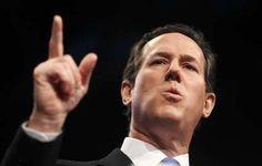 Photo #34 #prezpix #prezpixrs election 2012 candidate: Rick Santorum publication: Los Angeles Times LA Times photographer: Charlie Dharapak AP publication date: 3/6/12