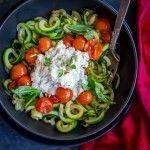 15 Minute Zucchini Noodle Lasagna Bowls {Paleo}