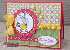 Happy Easter, Everybunny! by anne_marie - Cards and Paper Crafts at Splitcoaststampers