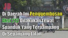 #PilkadaDKI #AntiAhok #TemanAhok Di Daerah Ini Penggembosan Aksi 212 Dilakukan Lewat Spanduk Yang Terpampang Di Sepanjang Jalan