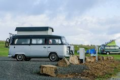 #Volkswagen Transporter T2 camper, #Dunvegan, Skye, #Scotland, United Kingdom