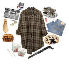 """""""Supernatural."""" by theavonsydow ❤ liked on Polyvore featuring Nudie Jeans Co., Converse and Blackbird"""