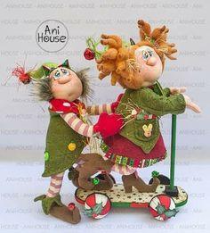 Christmas Holidays, Christmas Crafts, Xmas, Christmas Ornaments, Fabric Toys, Fabric Decor, Doll Crafts, Fun Crafts, Doll Patterns