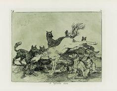 Francisco de Goya - Se defiende bien. Los Desastres de la Guerra nº 78