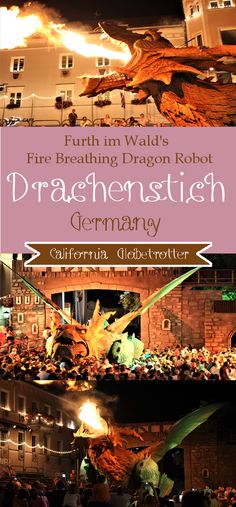 Furth im Wald's Drachenstich - The World's Largest Fire Breathing Dragon Robot - Bavaria, Germany - California Globetrotter (1)