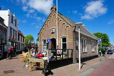 Bekende spot aan de haven op Terschelling: Het Wakend Oog...