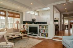 100 Monticello Avenue, Annapolis, MD 21401 — A  perfect Murray Hill  renovation w/ beautiful 22x25 two story addition.Clear sweep, foyer to back, in open house concept w/ ease of living & upkeep. Many striking features:water views, industrial skylight, marble counters,banquette in kitchen.Shelving & cabinets,wood flrs. thru-out. Great family room w/wall of windows. 5 BDRMs/3.5 BA, two master suites. 2 car garage.Steps to Spa Creek.