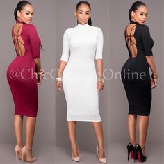 Which color is your fave? Wine Red - Off-White - or Black? www.ChicCoutureOnline.com Search: Yamani  #fashion #style #stylish #love #ootd #me #cute #photooftheday #nails #hair #beauty #beautiful #instagood #instafashion #pretty #girly #pink #girl #girls #eyes #model #dress #skirt #shoes #heels #styles #outfit #purse #jewelry #shopping