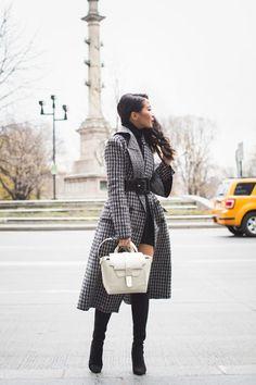 Winter Classics :: Plaid coat