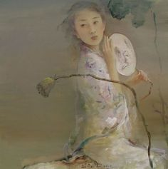 He artist Hu Jundi (Chinese: 1962) (Hu Jun Di)