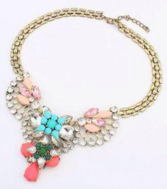 Elegant choker necklace on Etsy, $15.00