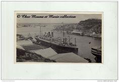 CURACAO - ANTILLES - LE PORT - ANNEES 1930 - PHOTO 11 X 6.5 CM