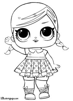 Printable LOL Doll Coloring Pages. Find out our collection of LOL Doll coloring pages below. Valentine Coloring Pages, Coloring Pages For Girls, Coloring Pages To Print, Coloring For Kids, Printable Coloring Pages, Colouring Pages, Coloring Sheets, Free Coloring, Heart Coloring Pages