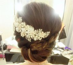 2016 New Rhinestone Bridal Hair Accessory Mesh Flower Headwear Wedding Dress Accessories Bridal Hair Jewelry Bridal Comb Bridal Jewellery Set From Yemu05021, $10.46| Dhgate.Com